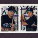 1997 Topps Baseball #251 Ron Hartman RC / David Hayman RC - Arizona Diamondbacks
