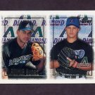 1997 Topps Baseball #250 Larry Rodriguez RC / Vladimir Nunez RC - Arizona Diamondbacks