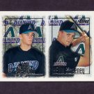 1997 Topps Baseball #249 Nick Bierbrodt RC / Kevin Sweeney RC - Arizona Diamondbacks
