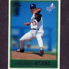 1997 Topps Baseball #240 Antonio Osuna - Los Angeles Dodgers