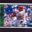 1997 Topps Baseball #231 Thomas Howard - Cincinnati Reds