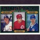 1997 Topps Baseball #204 Gabe Alvarez / Aaron Boone / Kevin Orie