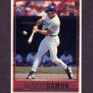 1997 Topps Baseball #196 Johnny Damon - Kansas City Royals