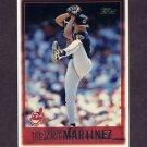 1997 Topps Baseball #181 Denny Martinez - Cleveland Indians
