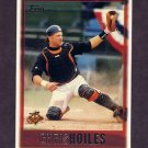1997 Topps Baseball #174 Chris Hoiles - Baltimore Orioles