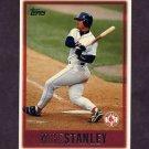 1997 Topps Baseball #151 Mike Stanley - Boston Red Sox