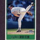 1997 Topps Baseball #136 Bruce Ruffin - Colorado Rockies