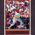 1997 Topps Baseball #124 Juan Gonzalez - Texas Rangers