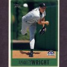 1997 Topps Baseball #107 Jamey Wright - Colorado Rockies