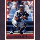 1997 Topps Baseball #098 Jim Leyritz - New York Yankees