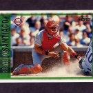 1997 Topps Baseball #082 Benito Santiago - Philadelphia Phillies