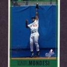 1997 Topps Baseball #067 Raul Mondesi - Los Angeles Dodgers