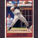 1997 Topps Baseball #054 Troy O'Leary - Boston Red Sox