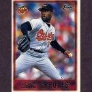 1997 Topps Baseball #053 Arthur Rhodes - Baltimore Orioles