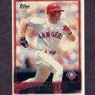 1997 Topps Baseball #012 Rusty Greer - Texas Rangers