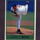1997 Topps Baseball #003 Terrell Wade - Atlanta Braves