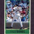 1997 Topps Baseball #001 Barry Bonds - San Francisco Giants