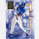 1995 Score Baseball Airmail #AM12 Carlos Delgado - Toronto Blue Jays