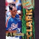 1995 Score Baseball Score Rules #SR19 Will Clark - Texas Rangers
