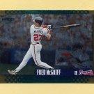 1995 Score Baseball Gold Rush #459 Fred McGriff - Atlanta Braves