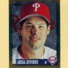 1995 Score Baseball Gold Rush #354 Gregg Jefferies - Philadelphia Phillies