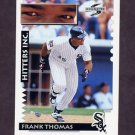 1995 Score Baseball #571 Frank Thomas HIT - Chicago White Sox
