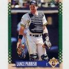 1995 Score Baseball #550 Lance Parrish - Pittsburgh Pirates