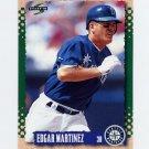 1995 Score Baseball #478 Edgar Martinez - Seattle Mariners