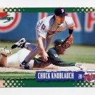 1995 Score Baseball #431 Chuck Knoblauch - Minnesota Twins