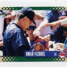 1995 Score Baseball #429 Omar Vizquel - Cleveland Indians
