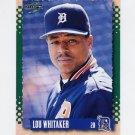 1995 Score Baseball #373 Lou Whitaker - Detroit Tigers