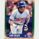 1995 Score Baseball #346 Larry Walker - Montreal Expos