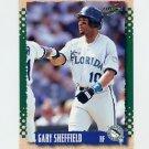 1995 Score Baseball #340 Gary Sheffield - Florida Marlins
