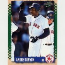 1995 Score Baseball #333 Andre Dawson - Boston Red Sox