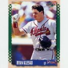 1995 Score Baseball #332 Ryan Klesko - Atlanta Braves