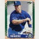 1995 Score Baseball #128 Tino Martinez - Seattle Mariners