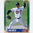 1995 Score Baseball #114 Jamie Moyer - Baltimore Orioles