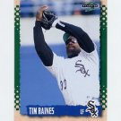 1995 Score Baseball #112 Tim Raines - Chicago White Sox
