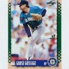 1995 Score Baseball #074 Goose Gossage - Seattle Mariners