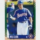 1995 Score Baseball #037 Will Clark - Texas Rangers