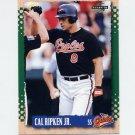 1995 Score Baseball #003 Cal Ripken - Baltimore Orioles
