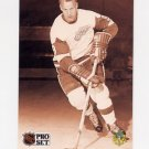 1991-92 Pro Set French Hockey #344 Gordie Howe - Detroit Red Wings