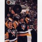 1991-92 Pro Set French Hockey #318 Mario Lemieux / Conn Smythe Trophy - Pittsburgh Penguins