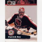 1991-92 Pro Set French Hockey #304 Patrick Roy AS - Montreal Canadiens