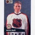 1991-92 Pro Set French Hockey #290 Brett Hull AS - St. Louis Blues