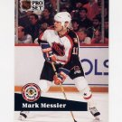 1991-92 Pro Set French Hockey #282 Mark Messier AS - Edmonton Oilers