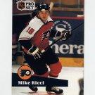 1991-92 Pro Set French Hockey #170 Mike Ricci - Philadelphia Flyers