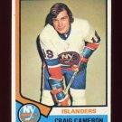 1974-75 Topps Hockey #263 Craig Cameron - New York Islanders