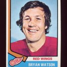 1974-75 Topps Hockey #259 Bryan Watson - Detroit Red Wings