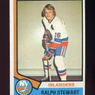 1974-75 Topps Hockey #158 Ralph Stewart - New York Islanders